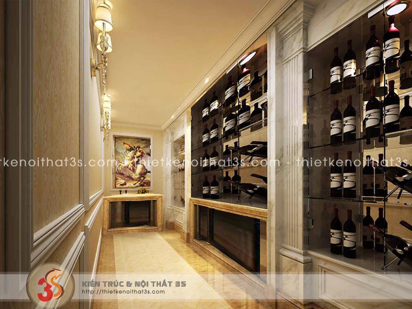 Không gian trưng bày rượu quý - Xứng danh đẳng cấp
