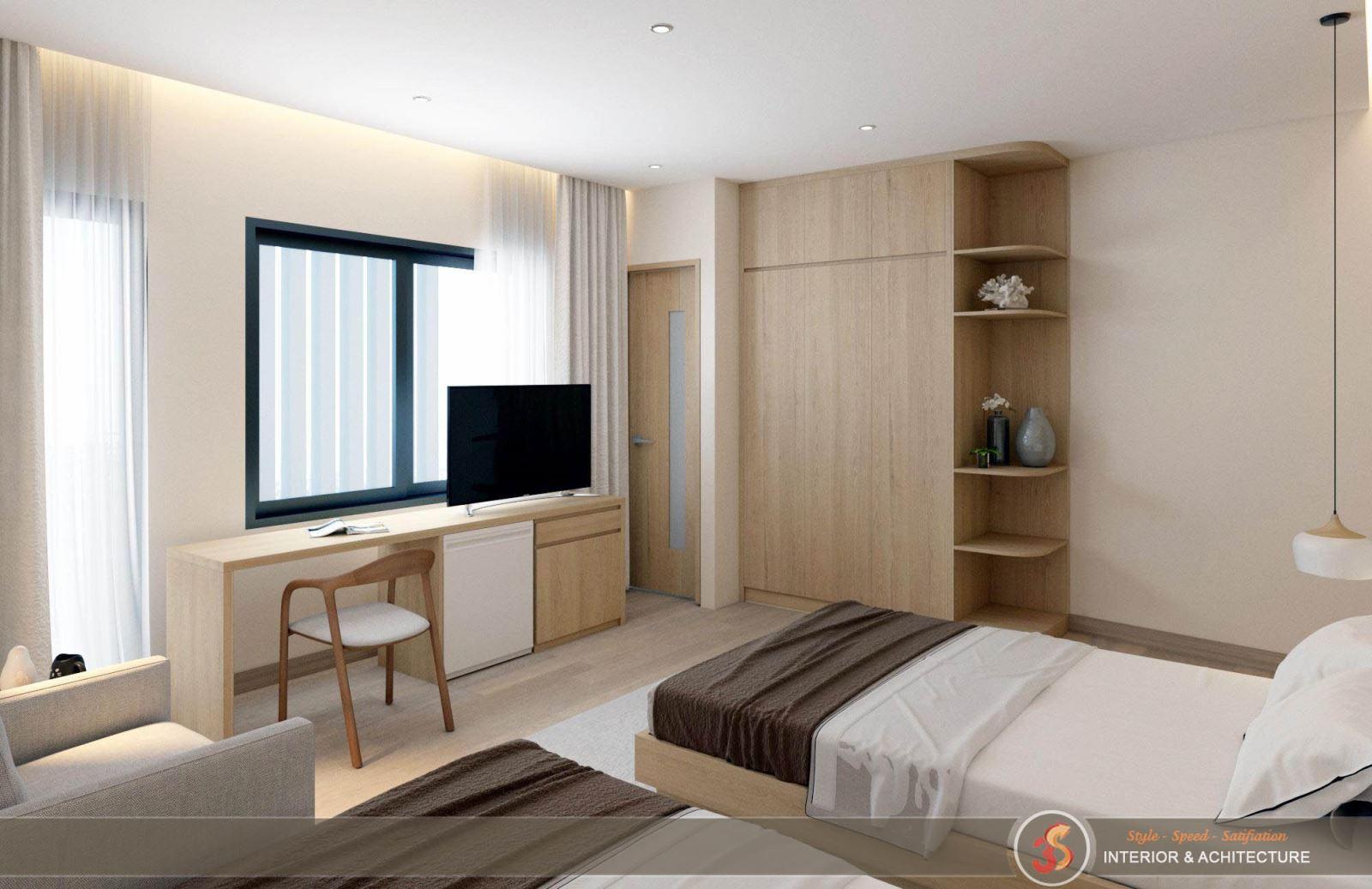 Các loại phòng ngủ trong khách sạn Hotel Korea