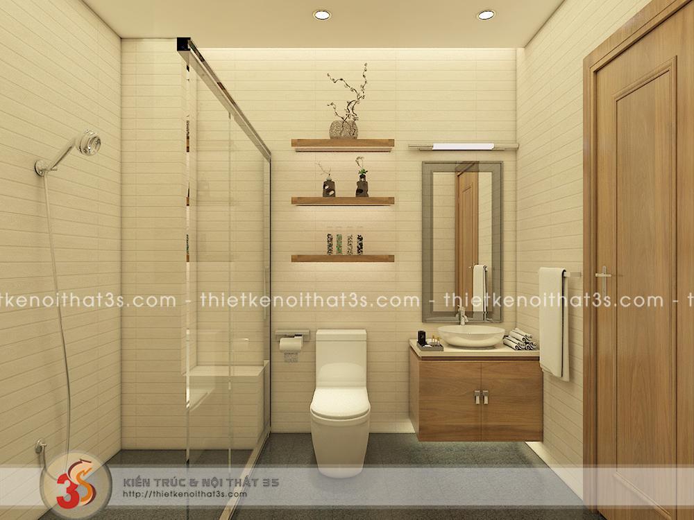 Phòng tắm trang thiết bị hiện đại
